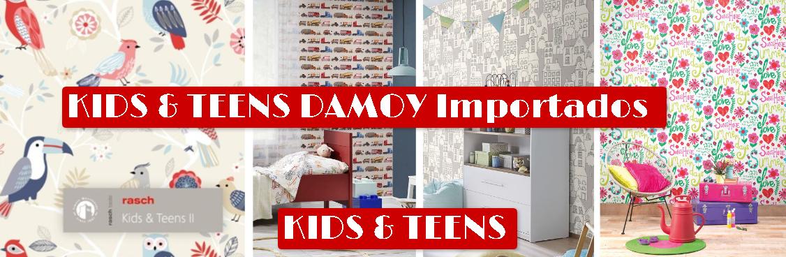 KIDS&TEENS II DAMOY Empapelados Importados